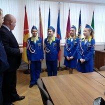 На встрече с главой ГП Воскресенск
